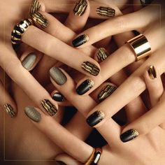 sophisticated nail art - Google Search