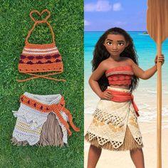Disney's Moana Inspired Crochet Outfit