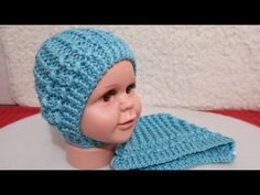 ШАПОЧКА - ЧЕПЧИК СПИЦАМИ ДЛЯ НОВОРОЖДЕННОГО. МАСТЕР КЛАСС. - YouTube Crochet For Kids, Knit Crochet, Crochet Hats, Knitted Hats, Beanie, Socks, Knitting, Youtube, Baby Hat Knit