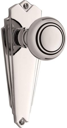 Rejuvenation Jenkins Art Deco Knob Interior Door Set