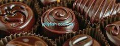 jellyfish cookies: Şekersiz Çikolata