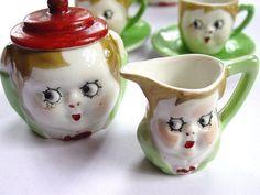 1920s child's tea set