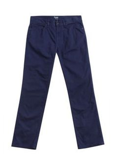 Chaps Newport Navy Straight-Fit 5-Pocket Pants