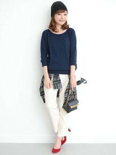 女子必見♡毎日のコーデの参考に「知的カジュアル」な秋服コーデ40選 - NAVER まとめ