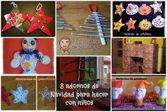 Te dejo 8 manualidades de #Navidad para que hagas con tus peques y decoréis vuestro hogar #diy #decoraciónNavidad http://blgs.co/4sSNo2