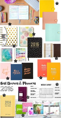 Looking for a diary/planner for 2016? Here are some of the best diaries and planners for 2016, all for your planning needs! | Beautyholics Anonymous