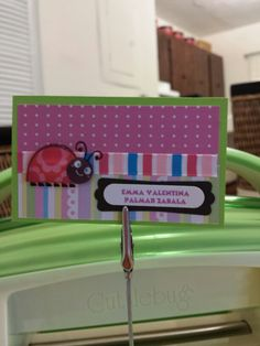 ladybugs,tarjetas pra niñas, tarjetas infantiles personalizadas