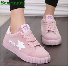 Sexmara Fashion Women Shoes Women Casual Shoes Comfortable Damping Eva Soles Platform Shoes For All Season Hot Selling
