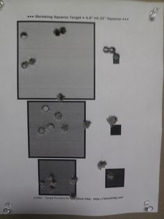 One of the drills used to develop good balance between speed and accuracy during our HANDGUN SKILLS AND FUNDAMENTALS course. Come see what it's all about. http://www.superiorsecurityconcepts.com/handgun-skills-and-fundamentals.php