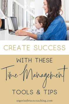 Managing Your Time While Doing Everything with Effective Time Management as a Mompreneur by Segerius Bruce Coaching. As a busy parent and business owner, you're never lacking in things to do, so I've put together this blog post with time management tips to stay focused, stop procrastinating, and help to get things done. These tips are also great for creative entrepreneurs and those running an online business or a service-based business owner. #workfromhome #timemanagement
