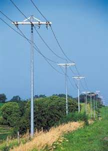 Jindal's tapered Mono Pole structures are designed for quick and easy installation and offer a lighter structure weight.