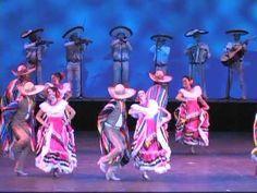 Ballet Folklórico de Jalisco - El Gusto y El Huizache - YouTube