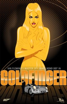 Cool Art: 'Goldfinger' by Mike Mahle