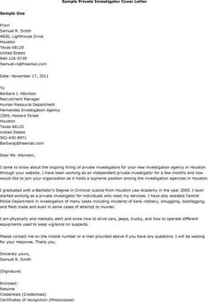 Background Investigator Cover Letter Professional News To Go 2