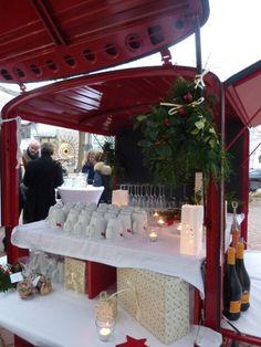 Dezember 2013 - die Ape weihnachtlich dekoriert.