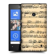HEAD CASE DESIGNS MUSIC SHEETS PROTECTIVE BACK CASE COVER FOR NOKIA LUMIA 520 | eBay