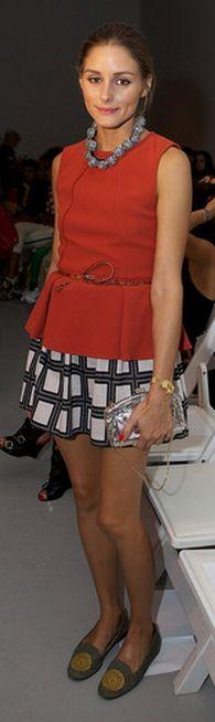 Purse – Valentino, Shirt and skirt – Tibi