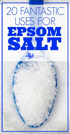Check out these 20 fantastic uses for Epsom salt! Do you have this on hand?