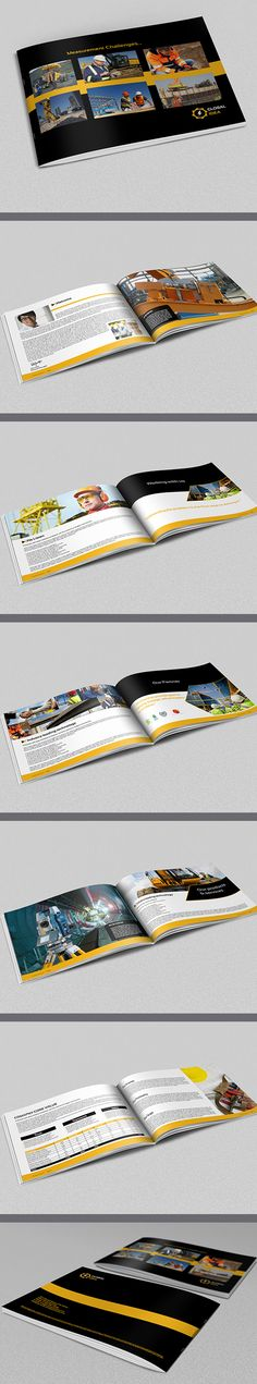 brochure description construction industry brochure template pages that is super simple to edit and customize