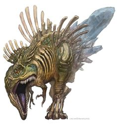 Sacred ancient T-rex