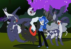Team+Chaos+Nightmare+Moon+by+SelenaEde.deviantart.com+on+@deviantART