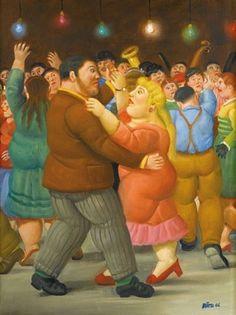 Dance by Fernando Botero