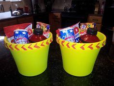 Softball Assistant Coaches Gift - gatorade, bubble gum, sunflower seeds, and ill have to add some giant marshmallows. Softball Coach Gifts, Softball Party, Softball Crafts, Girls Softball, Softball Stuff, Cheerleading Gifts, Basketball Gifts, Football Cheerleading, Senior Softball