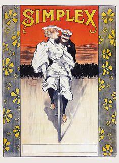 Dutch Bicycle, Bicycle Art, Art Nouveau, Art Deco, Velo Vintage, Bicycle Brands, Bike Poster, Morning Sun, Vintage Advertisements