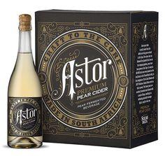 Astor Pear Cider on Behance