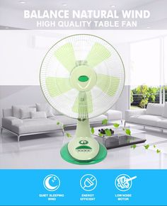 New design beautiful 16 inch electric table fan for wholesale