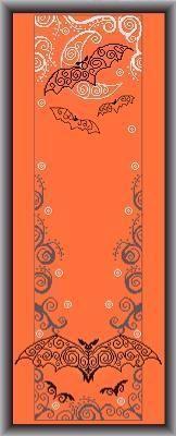 Alessandra Adelaide - AAN Bat Banner - Cross Stitch Pattern - 123Stitch.com