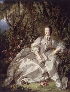 Jeanne Antoinette Poisson, Marquise De Pompadour (1721-1764) Jeanne Antoinette Poisson was dressed as a shepherdess at the Clipped Yew Tree Ball (1745) when she met King Louis XV (he was disguised as a tree). The King bought her the title of Marquise de Pompadour and installed her as his maîtresse-en-titre