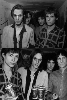Television, backstage CBGB's 1977.