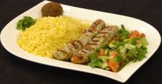 Chicken Kifta Kabob Lunch Special from Salem Restaurant in Chicago, IL