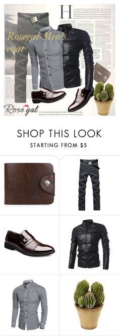 """""""Win $20 Cash from Rosegal!"""" by pal-0 ❤ liked on Polyvore featuring Nearly Natural, men's fashion, menswear, stylish, men and rosegal"""