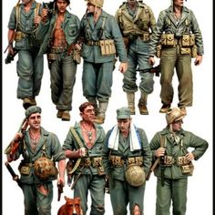 Military Figures, Military Diorama, Military Art, Military History, Ww2 Uniforms, Military Uniforms, Military Drawings, Us Marines, Military Modelling