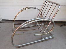 CHAIR Royalchrome Bauhaus Simmons Art Deco Norman Bel Geddes Mies streamline 30s
