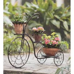 Tricycle Planter | Outdoor Planters and Plants