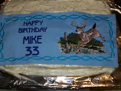 Mike's cake top
