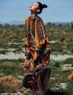 Bae Yoon Young for Harper's Bazaar Korea May 2017. Photographed by Kim Yeong Jun