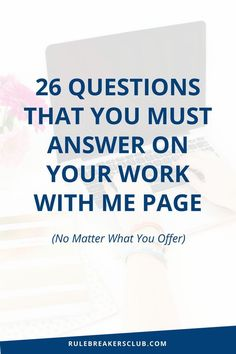 How to write a services page that makes people want to hire you! Here's what to put on your work with me page to book out more clients!