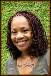 Kinky Twist Protective Style done at the The Do You Naturally Holistic Natural Hair Salon, Round Rock, TX.