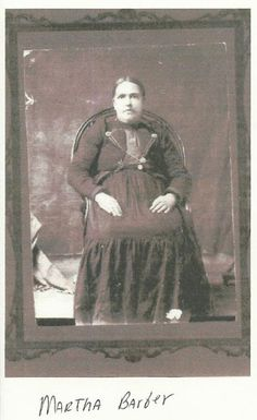 Martha Barber-Cowan (the daughter of Andrew Barber and Talitha Smith-Barber) - Cherokee - no date