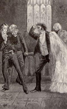Jane Eyre. Edmund Garrett, 1890 The wedding is called off. Now Mr. Rochester is gonna beat yo ass!