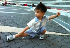 Chen style Taichi Kungfu kid