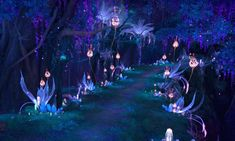 Path of Pixie Guard in Nouixlo Fantasy Art Landscapes, Fantasy Landscape, Fantasy Artwork, Fantasy Places, Fantasy World, Casa Anime, Anime Scenery Wallpaper, Episode Backgrounds, Fantasy Background