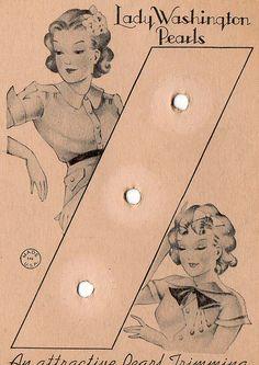 Fabulous button card by ellierichellie, via Flickr