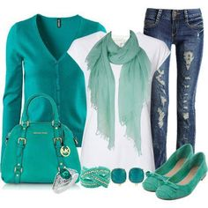 Fashion with soft colors