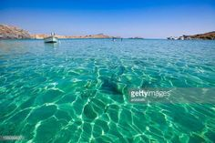 12-01 crystal clear waters on the beach of Lindos, Rhodes... #rodos: 12-01 crystal clear waters on the beach of Lindos, Rhodes… #rodos