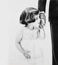 """Named """"Daddy's Little Girl,"""" all I can say is that is represents a wonderful time in the life of Jackie and John Kennedy--I am sure."""